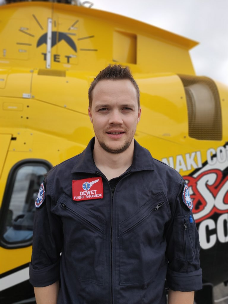 Dewet Pienaar Paramedic